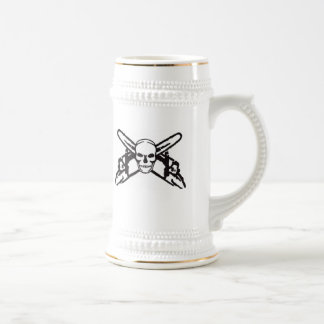 Skull & Chainsaws Beer Stein