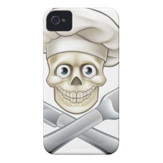 Skull Chef Pirate Cartoon Case-Mate iPhone 4 Cases