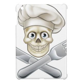 Skull Chef Pirate Cartoon Cover For The iPad Mini