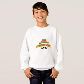 Skull Cinco de Mayo Mexican Holiday Celebration Sweatshirt