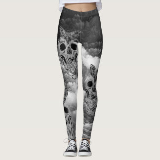 Skull Cloud leggings