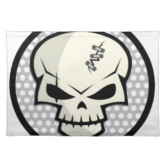 SKULL-COIN PLACEMAT