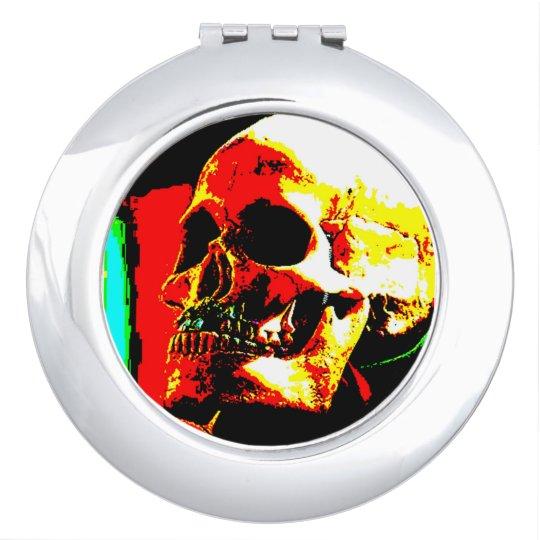 Skull Compact Vanity Mirror