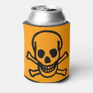 Skull Coozy Can Cooler
