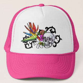 Skull copy trucker hat