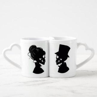 Skull Couple Nesting Mugs