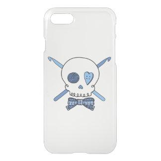 Skull & Crochet Hooks (Bow Tie) iPhone 7 Case