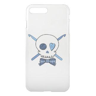 Skull & Crochet Hooks (Bow Tie) iPhone 7 Plus Case