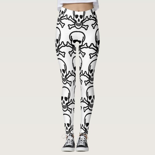 Skull & Cross Bones Leggings