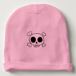 Skull & Crossbones Baby Girl Hat Baby Beanie