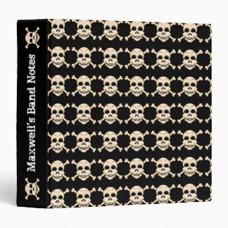 Skull & Crossbones Binder