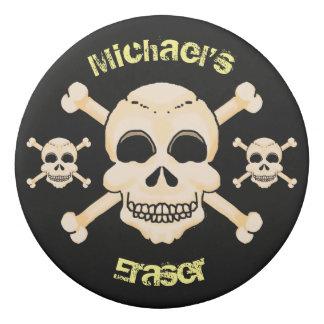 Skull & Crossbones Eraser