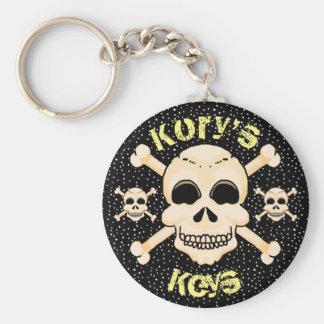 Skull & Crossbones Key Chain