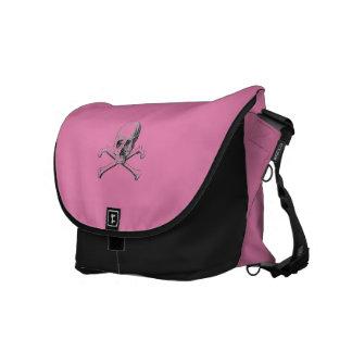 Skull & Crossbones Messenger Bag