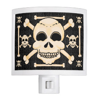 Skull & Crossbones Night Light