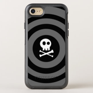 ~ Skull + Crossbones ~ OtterBox Symmetry iPhone 8/7 Case