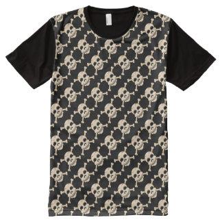 Skull & Crossbones Panel T-Shirt