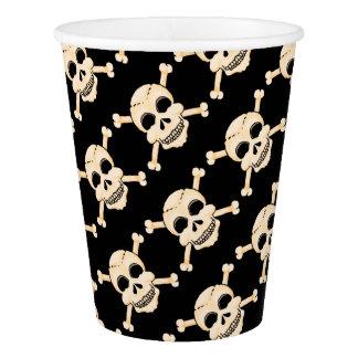 Skull & Crossbones Paper Cups