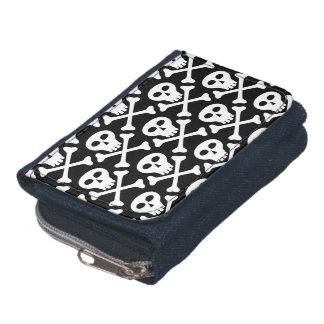 Skull & Crossbones Pattern Wallet