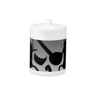 Skull Crossbones Pirate Flag Fade Eye Patch
