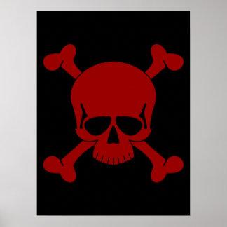 Skull & Crossbones Poster