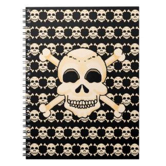 Skull & Crossbones Spiral Notebook