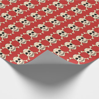 Skull & Crossbones Wrapping Paper