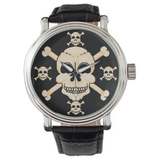 Skull & Crossbones Wrist Watch