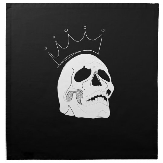 Skull Crown Cloth Napkins
