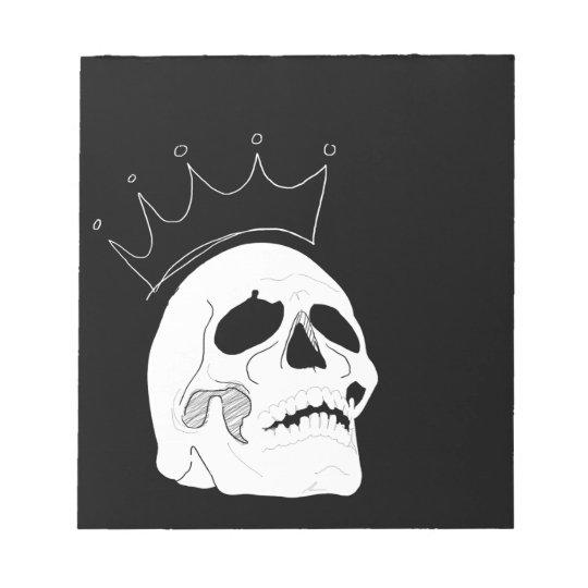 Skull Crown Notebook (40pg) Notepad