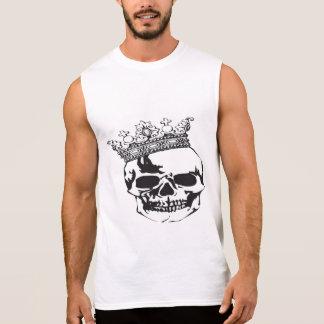 Skull + Crown Sleeveless Shirt