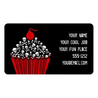 Skull Cupcake Business Card