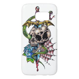 Skull & Dagger Tattoo Samsung Galaxy S7 Case