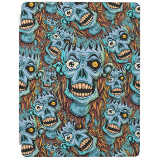skull dark elf with no brain iPad cover