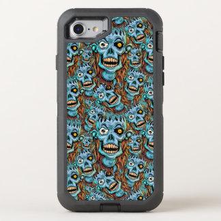 skull dark elf with no brain OtterBox defender iPhone 7 case