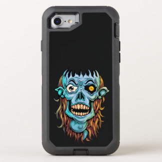 skull dark elf with no brain OtterBox defender iPhone 8/7 case
