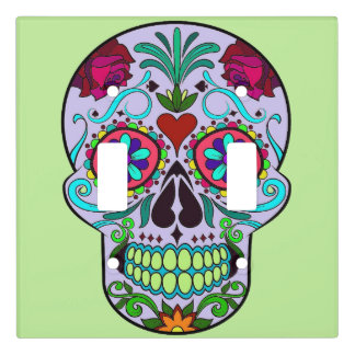 Skull Day of the Dead Light Switch Cover Plate