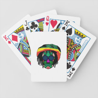 Skull Daze Bicycle Playing Cards