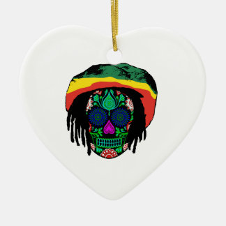 Skull Daze Ceramic Ornament