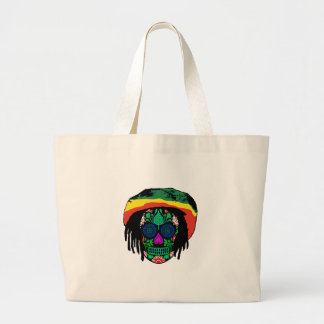 Skull Daze Large Tote Bag