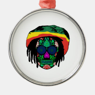 Skull Daze Metal Ornament