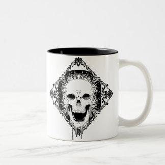 Skull Decor Mug