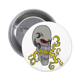 Skull Demon Art Pins