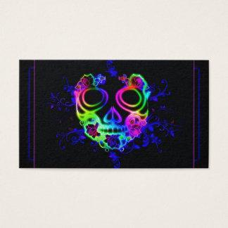 Skull design business card