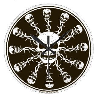 Skull Design Clock