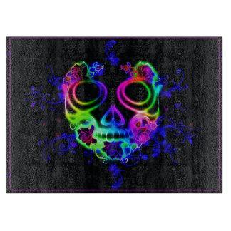 Skull design cutting board