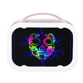 Skull design lunch box