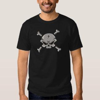 Skull Design on a T-shirt