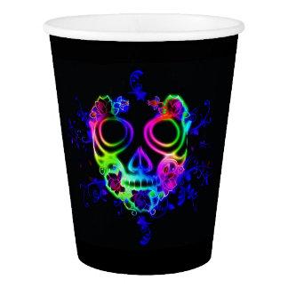 Skull design paper cup