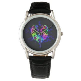 Skull design watch